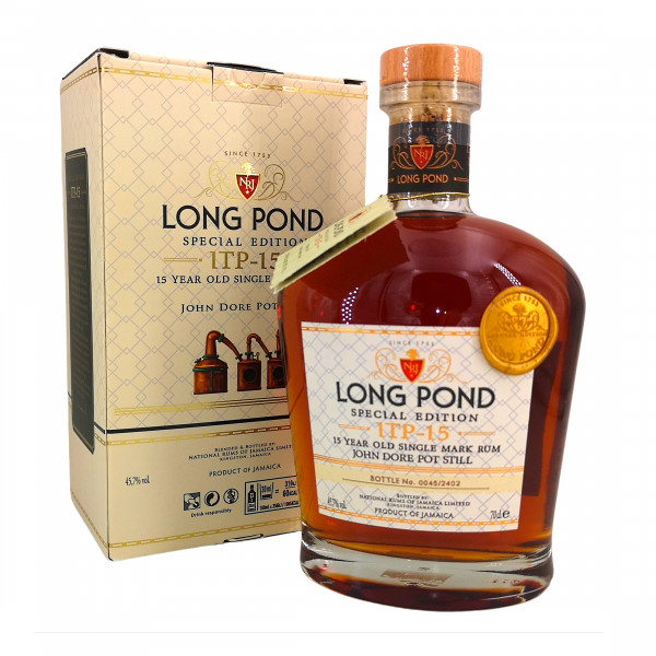 Long Pond Special Edition: ITP 15 Year Old Single Mark Rum