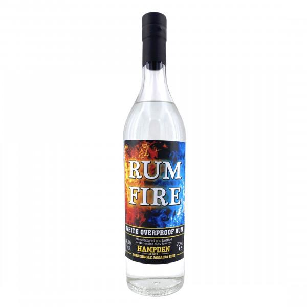 Hampden White Overproof Rum Fire