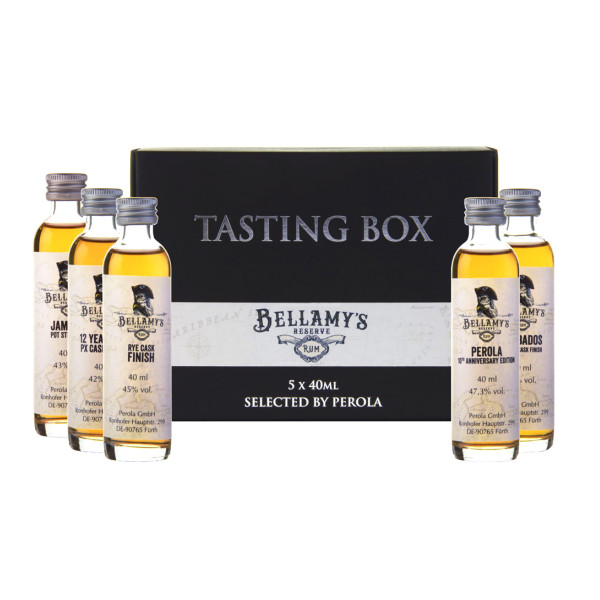 Bellamy's Reserve Rum Tasting Box (Edition 2020)