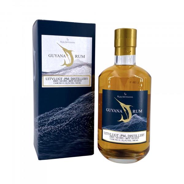 Rum Artesanal Guyana Rum Uitvlugt PM Distillery 10/1993 - 03/2019 Single Cask #11