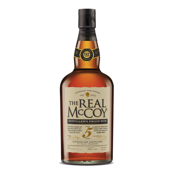 The Real McCoy - 5 Years 46% Amerikan Oak Bourbon Barrels