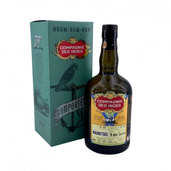Compagnie des Indes Mauritius 9 Ans Secrete Distillerie