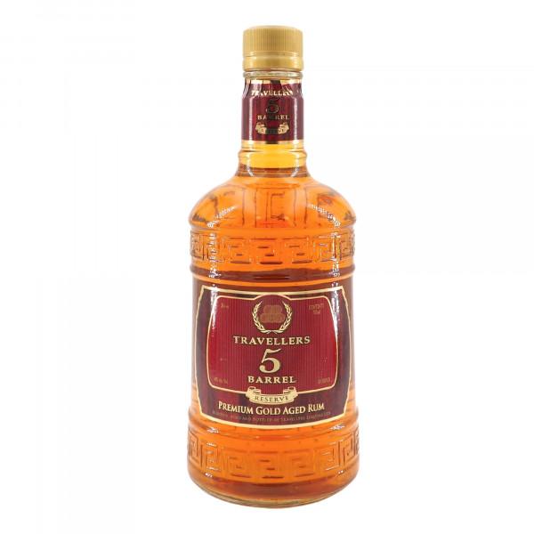 Travellers 5 Barrel Reserve Premium Gold Aged Rum