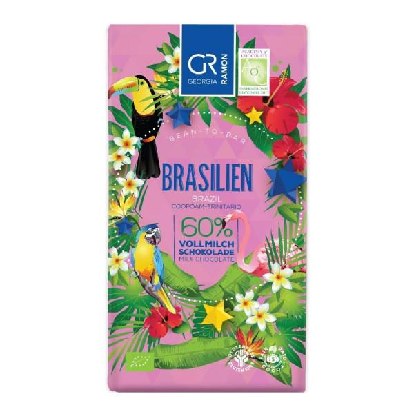 Georgia Ramon Brasilien 60% BIO Schokolade