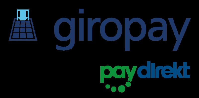 Zahlen mit giropay und Paydirekt!