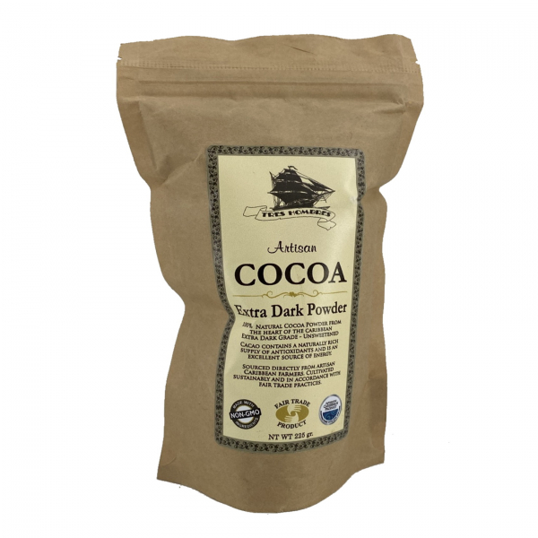 Tres Hombres - Cocoa Artesanal Extra Dark Powder