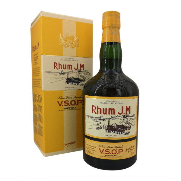 Rhum J.M Tres Vieux Rhum Agricole VSOP