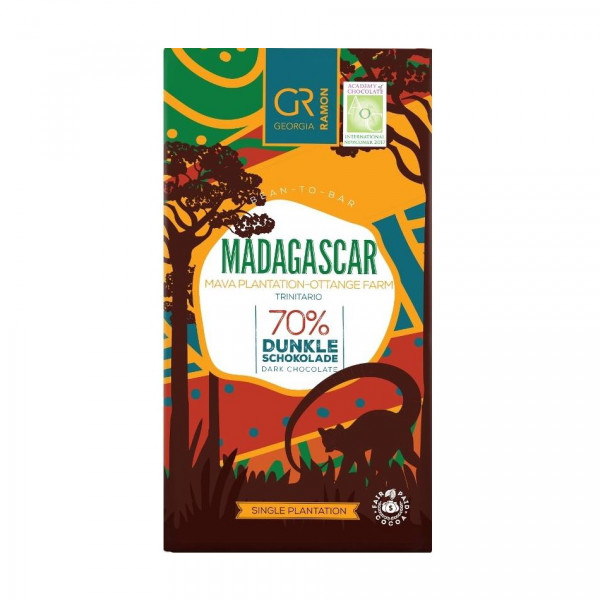 Georgia Ramon Madagaskar Ottange 70% Schokolade