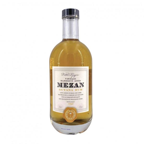 Mezan Vintage Barrique Aged Rum Guyana 1998 Uitvlugt