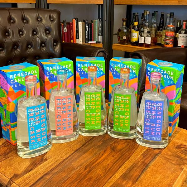 Renegade Cane Rum 1st Release - Tasting Kit