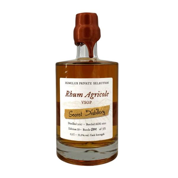 Rumclub Private Selection Edition 19 - Rhum Agricole VSOP Secret Distillery
