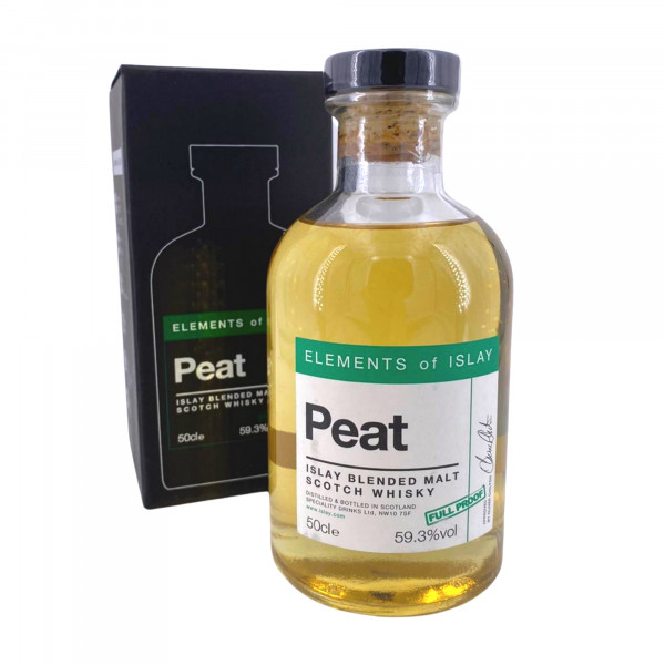 Elements of Islay - Peat Full Proof Blended Malt Scotch Whisky